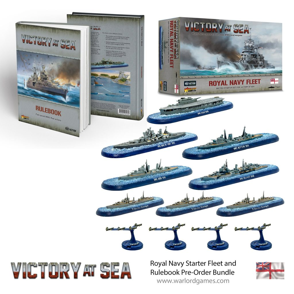 Royal Navy Starter Fleet Bundle - Victory At Sea