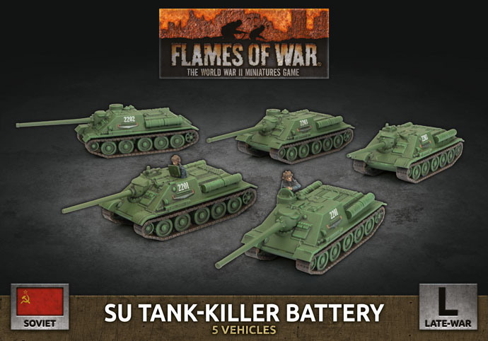 SU Tank-killer Battery - Flames Of War