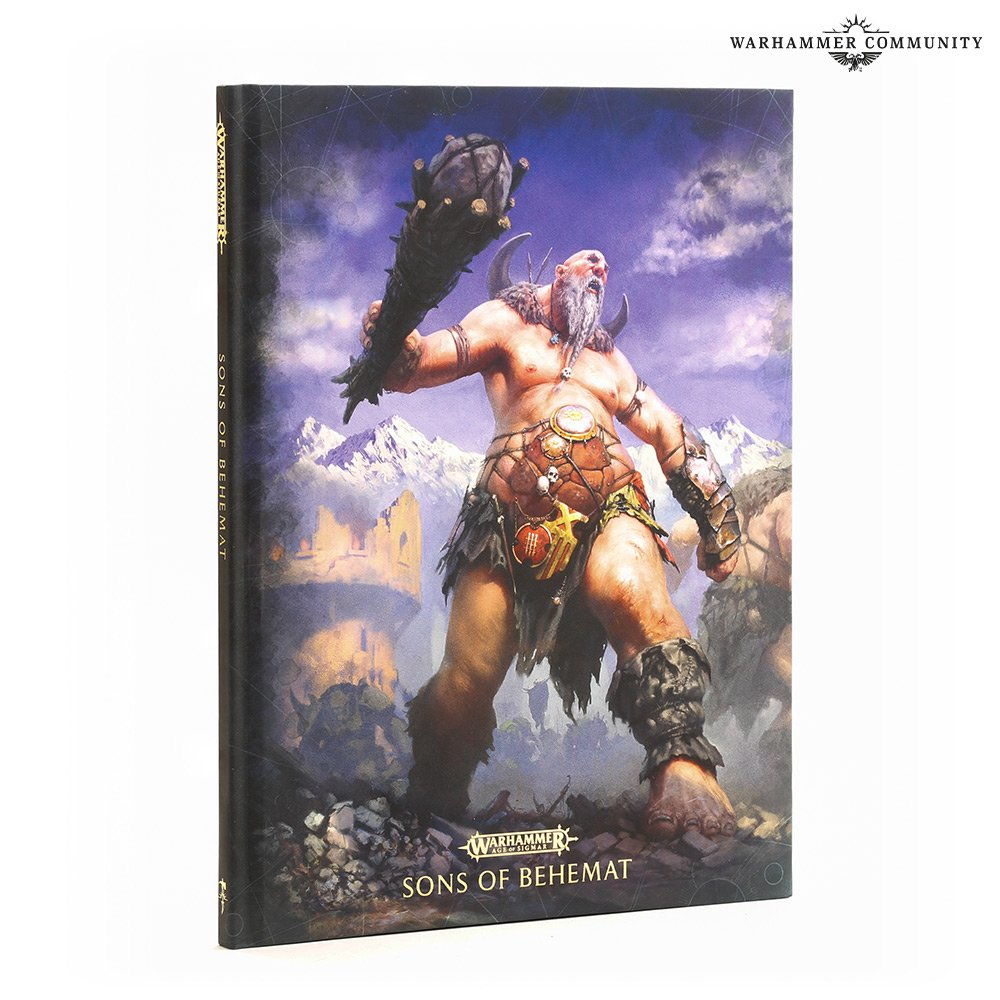 Sons Of Behemat Battletome - Age Of Sigmar