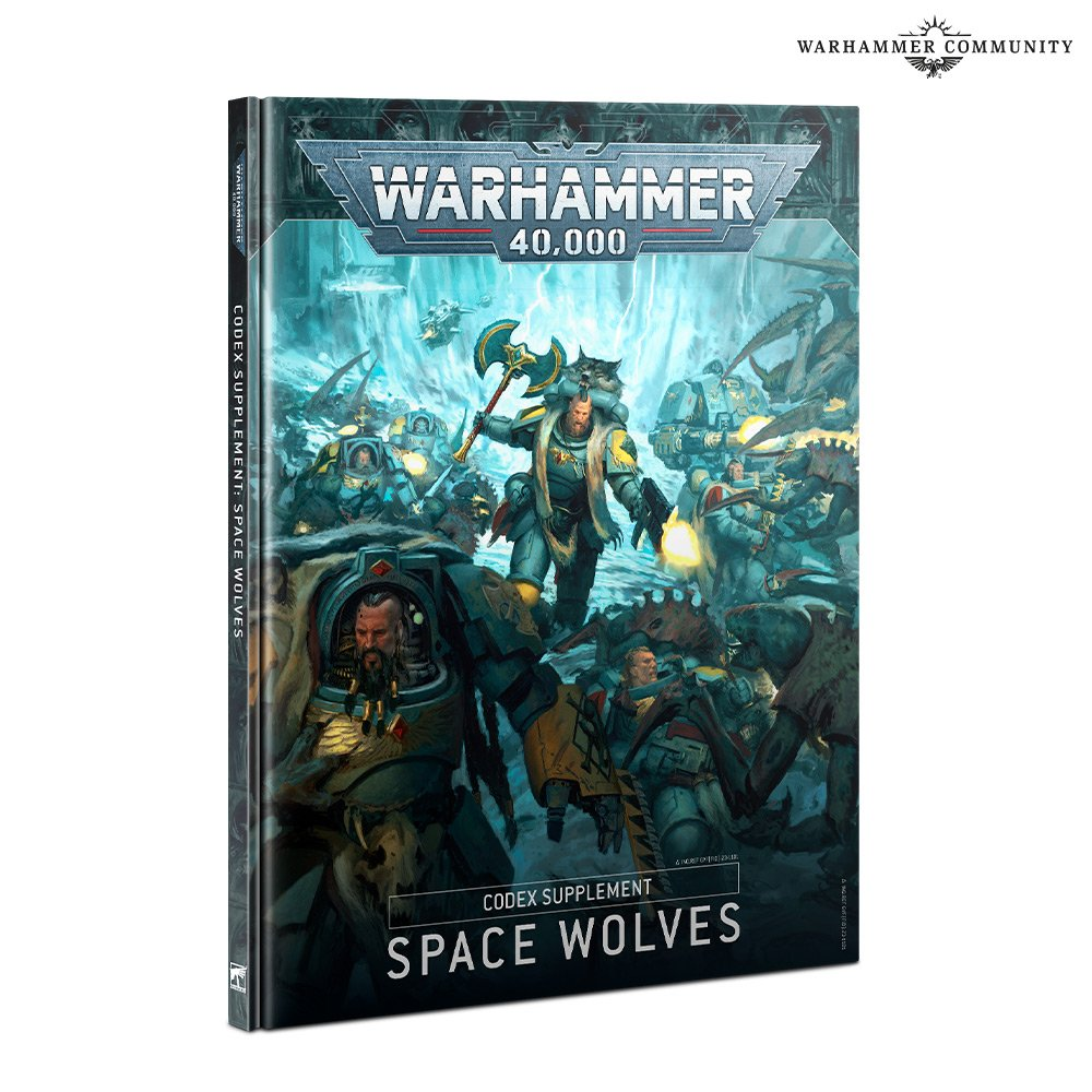 Space Wolves Codex - Warhammer 40K
