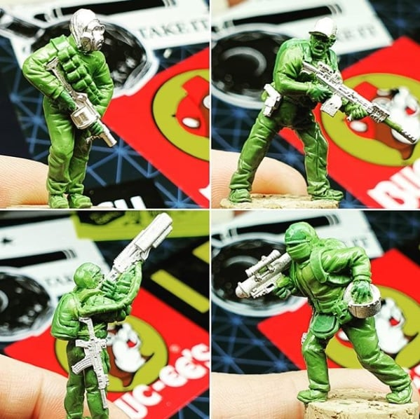 Support Figures Preview - Spectre Miniatures