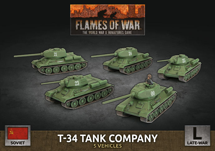 T-34 Tank Company - Flames Of War