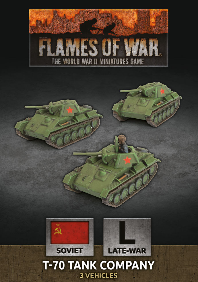T-70 Tank Company - Flames Of War