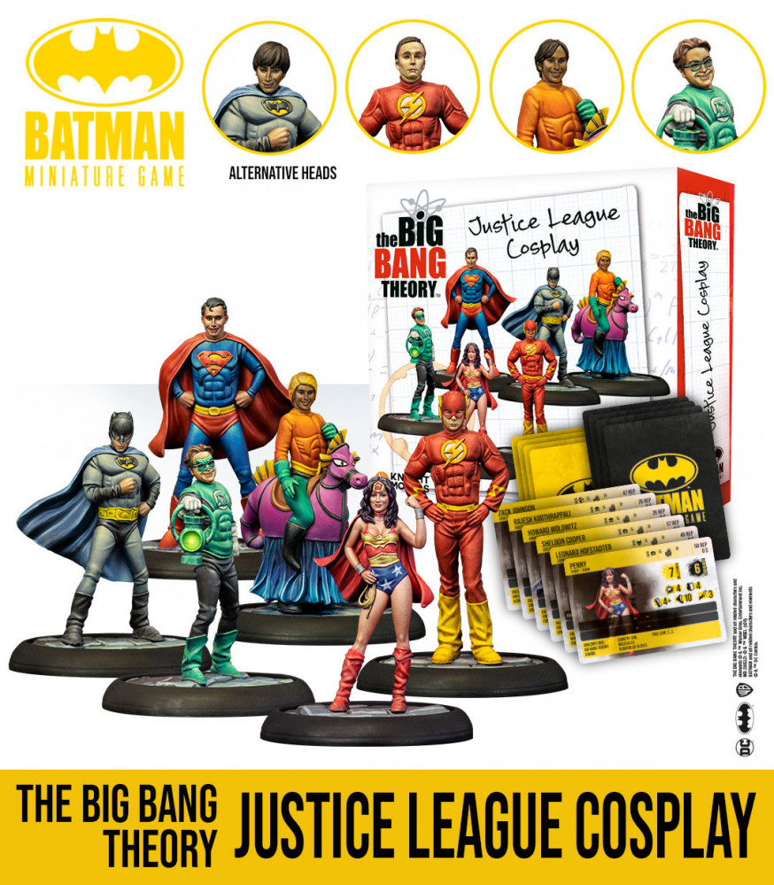 The Big Bang Theory Justice League Set - Knight Models