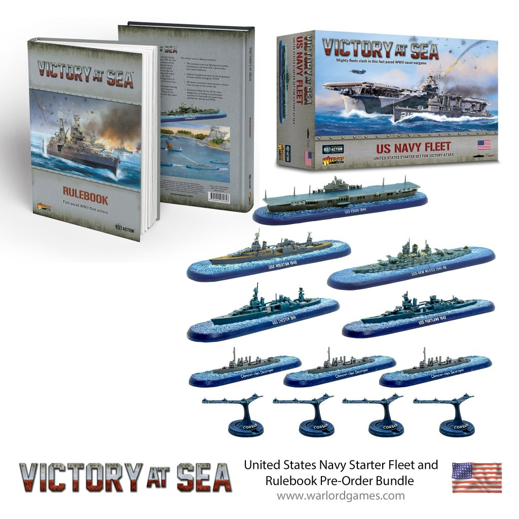 United States Navy Starter Fleet Bundle - Victory At Sea