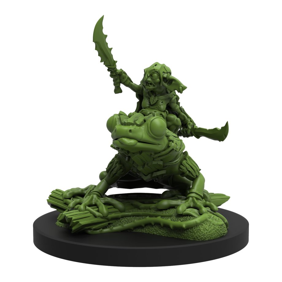 Village Of The Goblin Chief Miniature #2 - Steamforged Games