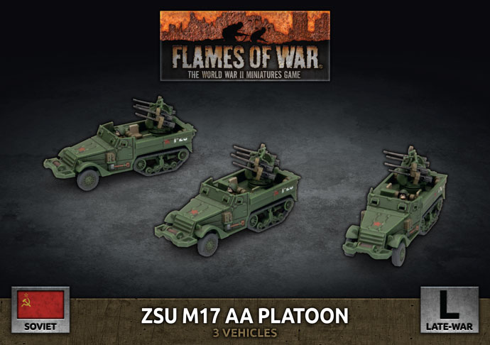 ZSU M17 AA Platoon - Flames Of War