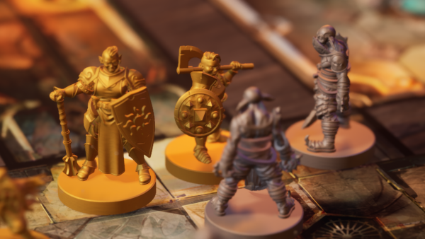 Steamforged Delve Into The Details Of Bardsung Board Game