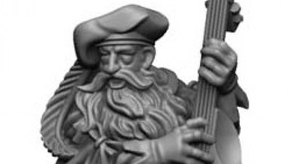 Snap Up Unreleased Miniatures Dwarven Adventurers!