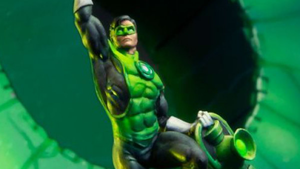 Green Lantern Powers Into Knight Model's DC Universe Soon