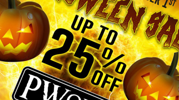 PWork Wargames Get Set For A Halloween Sale