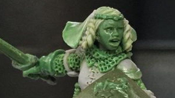 Hasslefree Preview The Lioness Of Brittany & More New Miniatures
