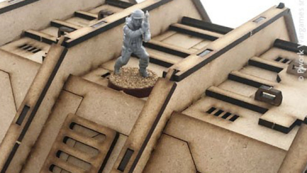 PWork Wargames Build Up Their Outpost Terrain Collection