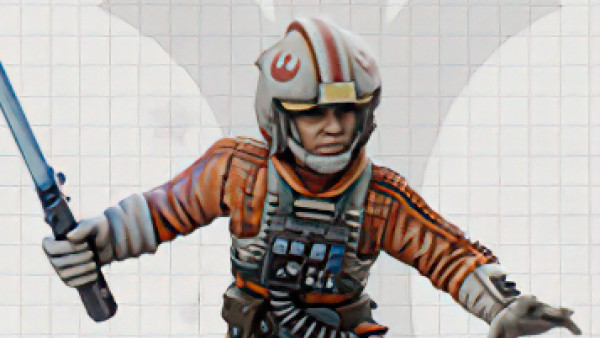 Snag Limited Edition Luke Skywalker For Star Wars: Legion