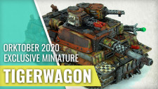 A Quick Look A The Orc Tigerwagon | Kromlech