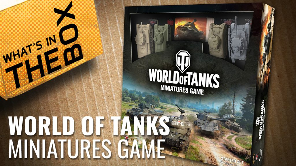 Unboxing: World of Tanks Miniatures Game   Gale Force 9