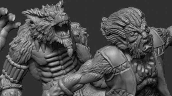 Gangfight Games Preview Their Wolfpack Beast Starter Set