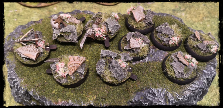 Ogre Wavered and Wound tokens