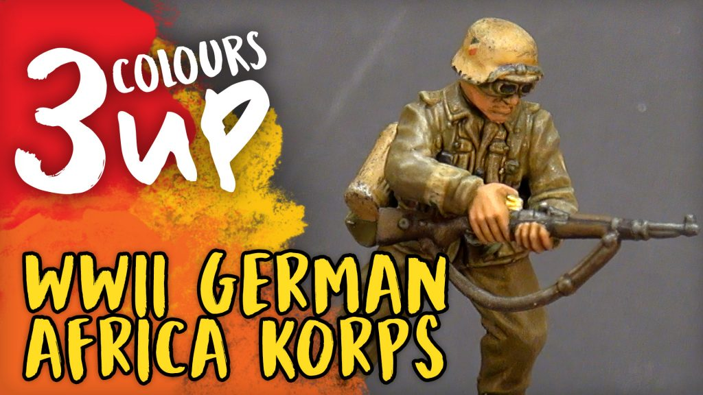 Bolt Action Miniature Painting Tutorial - WWII German Africa Korps