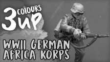 Bolt Action Miniature Painting Tutorial – WWII German Afrika Korps [7 Day Early Access]