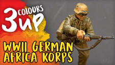 Bolt Action Miniature Painting Tutorial – WWII German Afrika Korps