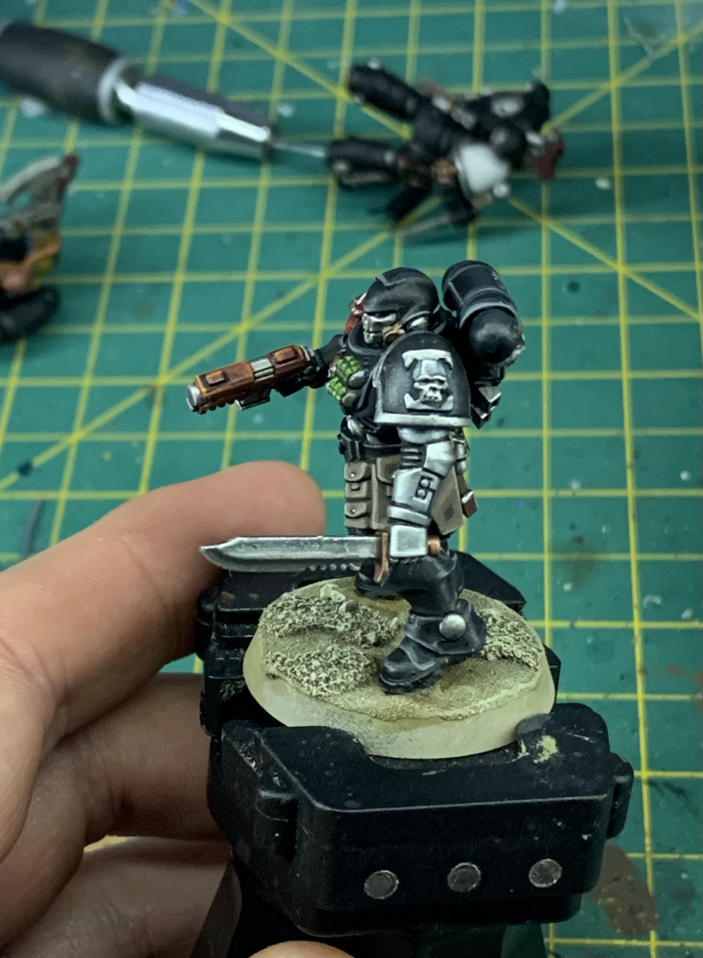 Sculpted Deathwatch Icon