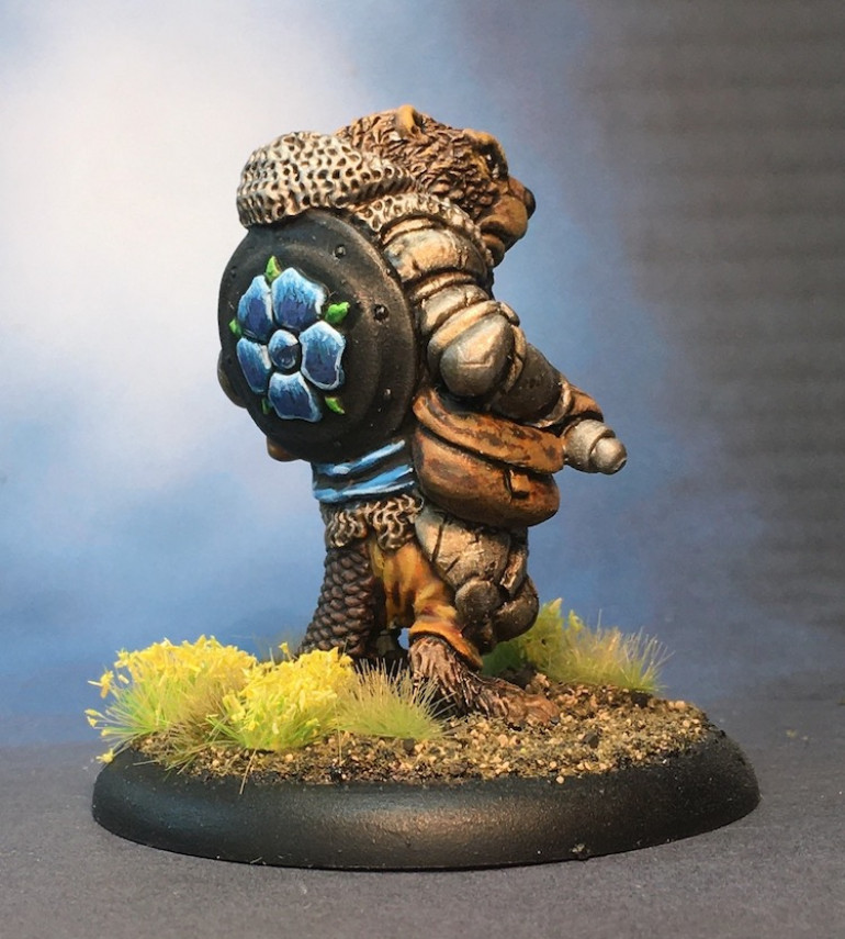Beavering Away to Finish Another Mini