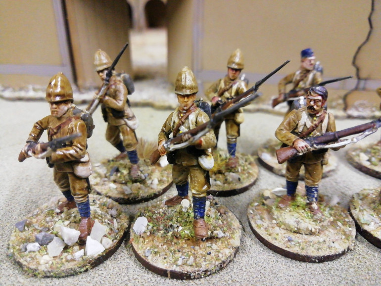 The 66th Berkshire regiment who thought a last stand at Maiwand Afghanistan 1880.
