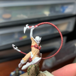 Finished Base, Skin and Cloth on the Blade Coven