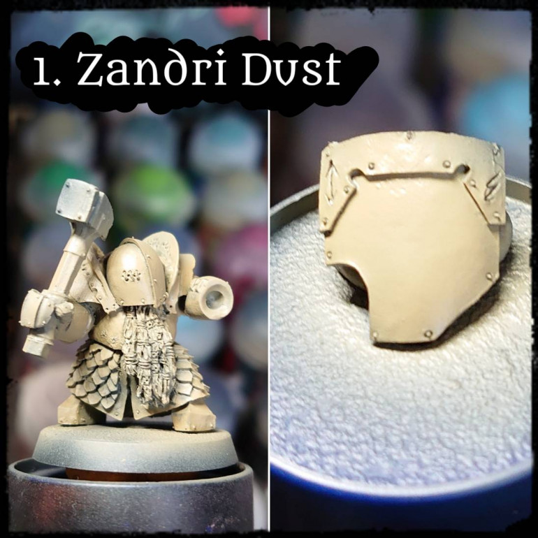 How to paint Grim Dark White Armour