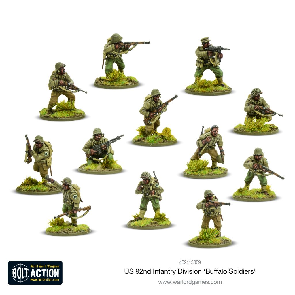 92nd Infantry Division Buffalo Soldiers - Bolt Action
