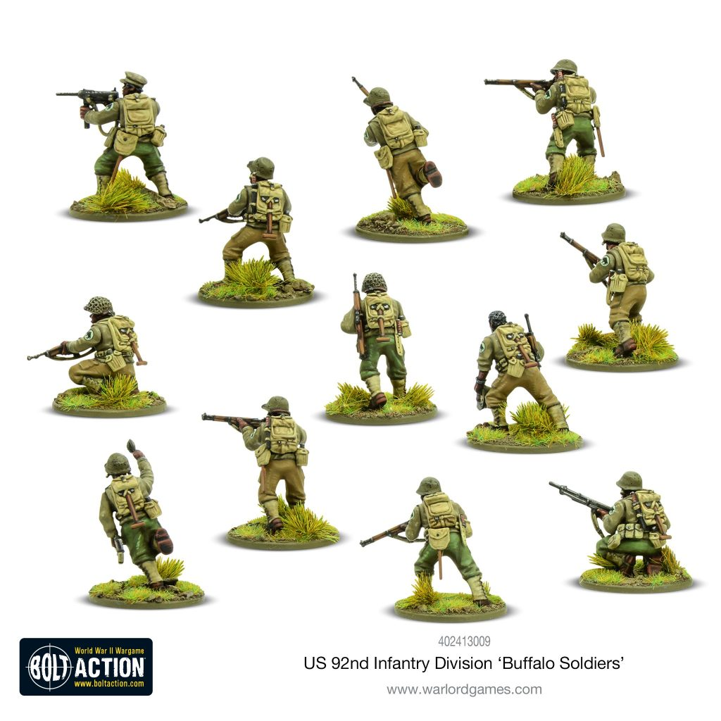 92nd Infantry Division Buffalo Soldiers (Rear) - Bolt Action