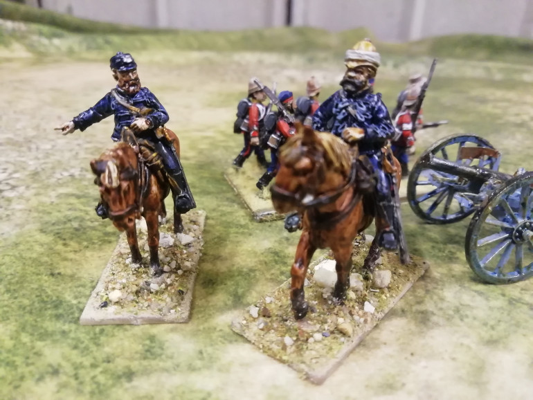 Back to the Zulu War with Lord Chelmsford commander of the British forces leading his troops on a wild Zulu chase