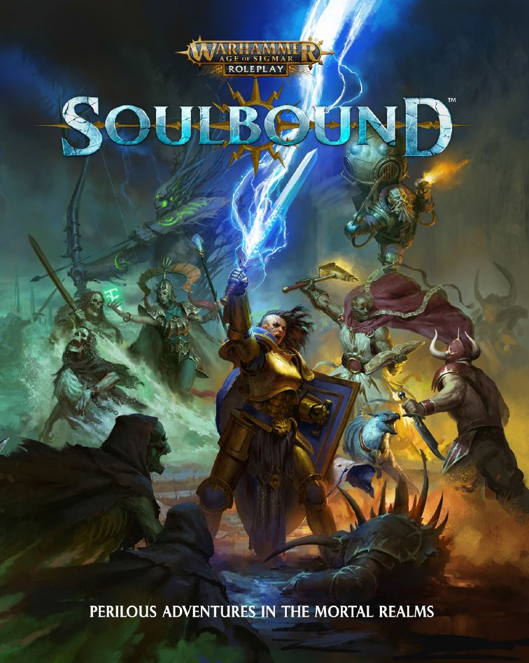 Age Of Sigmar Soulbound Cover - Cubicle 7