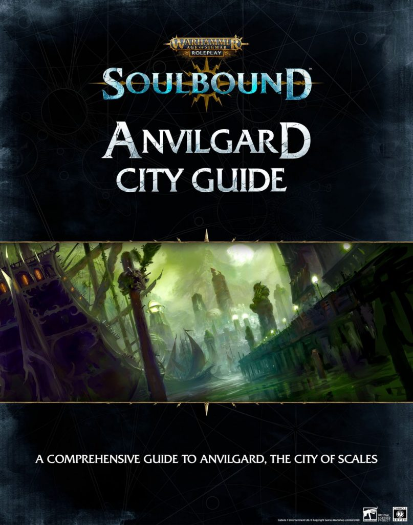 Anvilgard City Guide - Cubicle 7