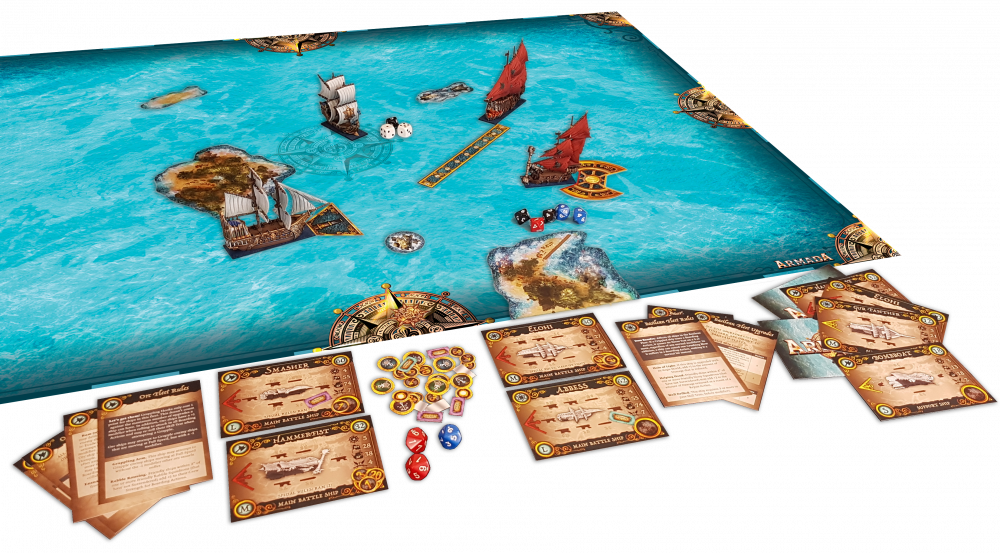 Armada Two Player Starter Set Layout - Mantic Games