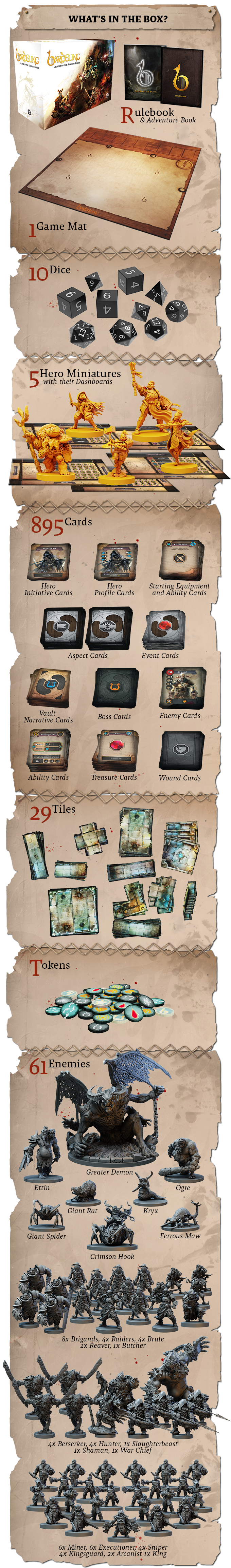Bardsung Hero Pledge Contents - Steamforged Games