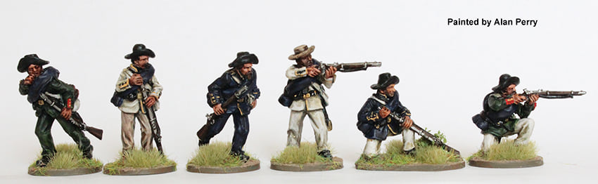 Brazilian Cacadores Skirmishing - Perry Miniatures