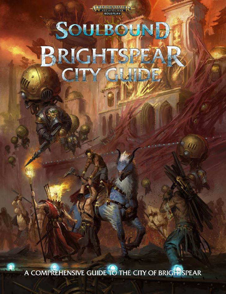 Brightspear City Guide - Cubicle 7