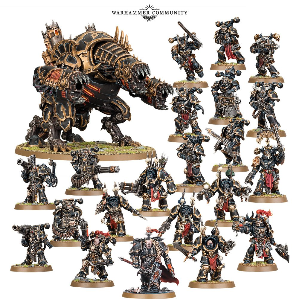 Chaos Space Marine Decimation Warband - Warhammer 40K