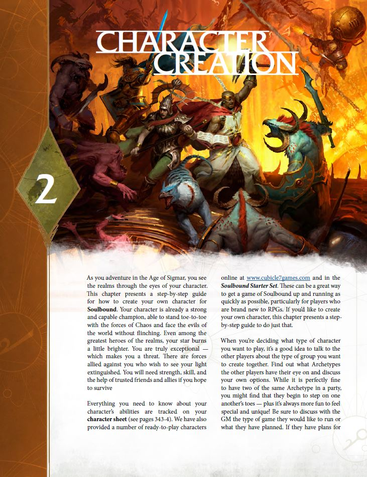 Character Creation - Cubicle 7