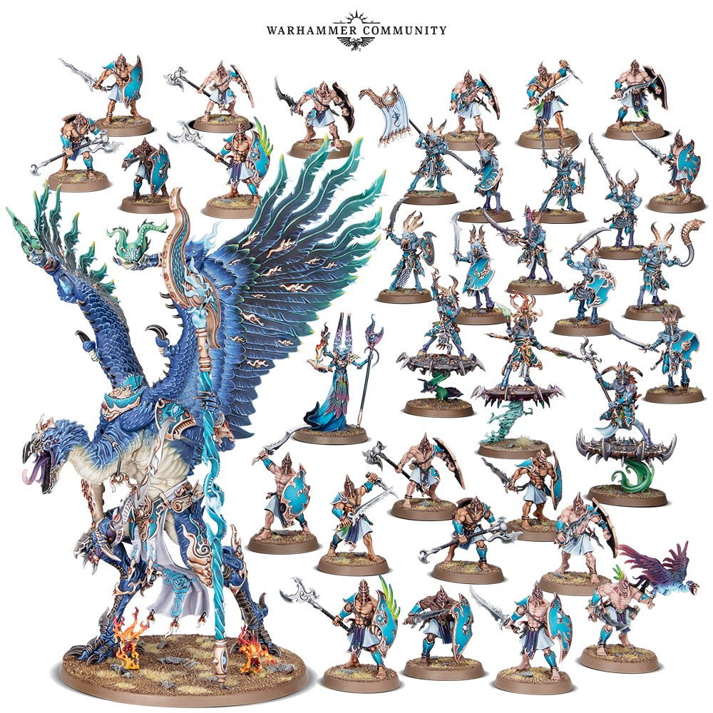 Disciples of Tzeentch Fatesworn Host - Age Of Sigmar