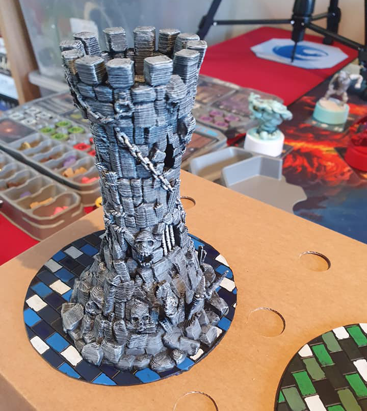 Fantasy Tower by Carl King - Facebook