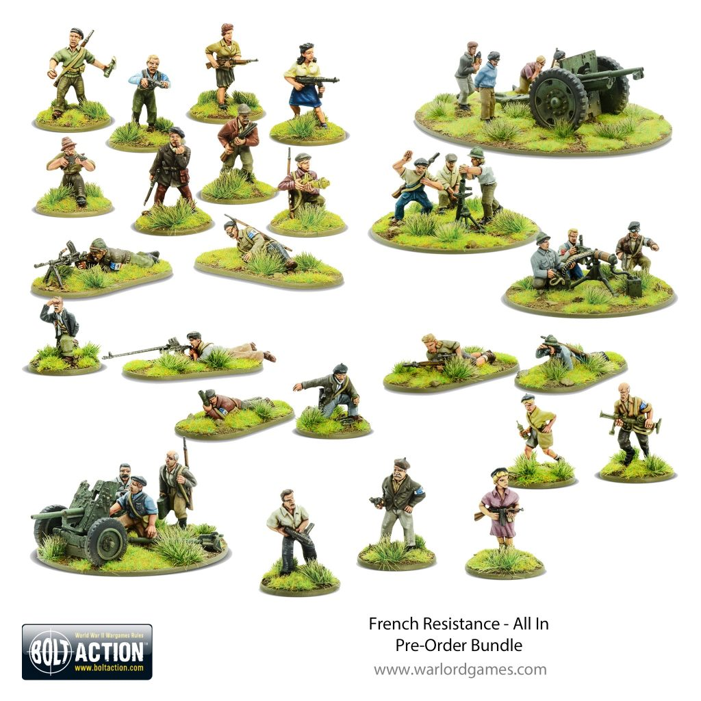 French Resistance Bundle - Bolt Action