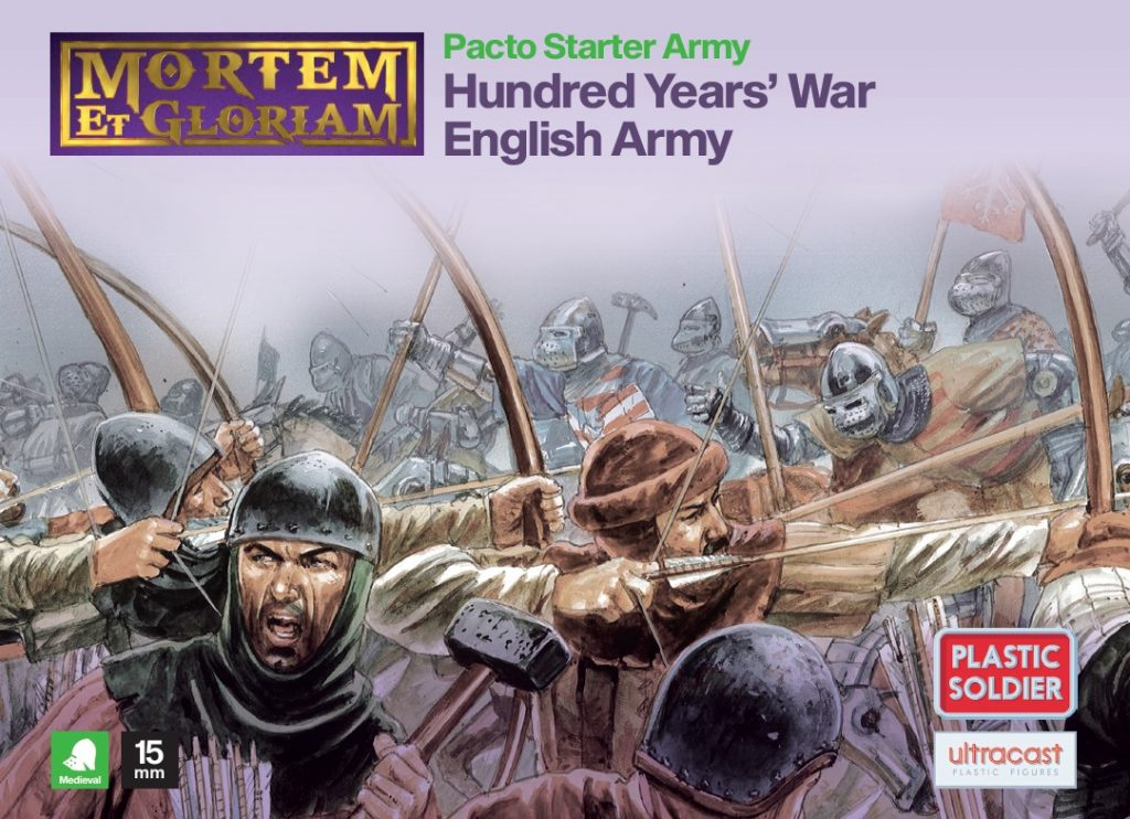 Hundred Years War English Army - Mortem Et Gloriam