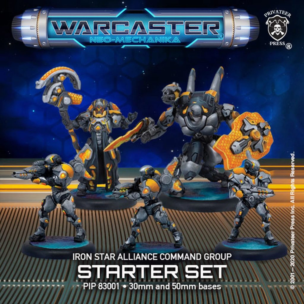 Iron Star Alliance Command Group - Warcaster