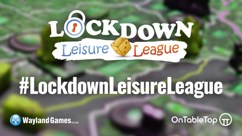 Lockdown Leisure League Hash Tag