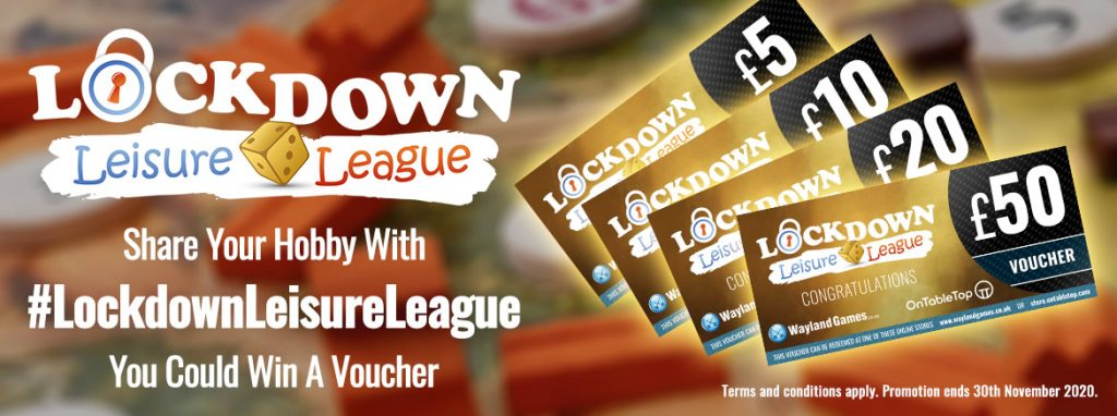 Lockdown Leisure League OTT Store Page Banner