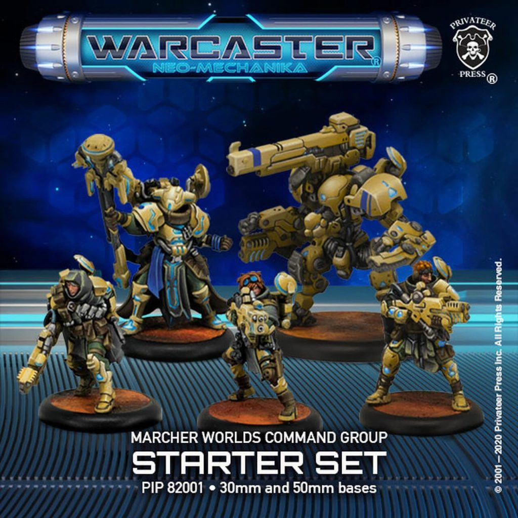 Marcher Worlds Command Group - Warcaster