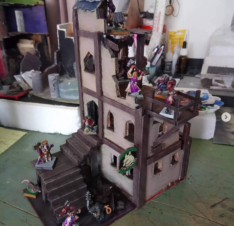 Mordheim Scenery by nickcooper906 - Instagram